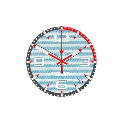 Watch Face Samsung Gear S3 Frontier - Classic - S2 design Cotton Sea - Bandsforwatches