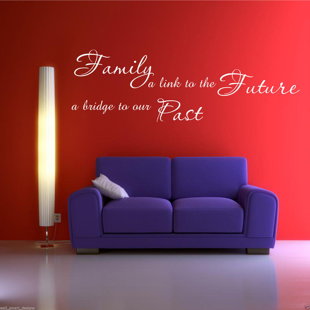 Family Future Past Wall Quote WSD468