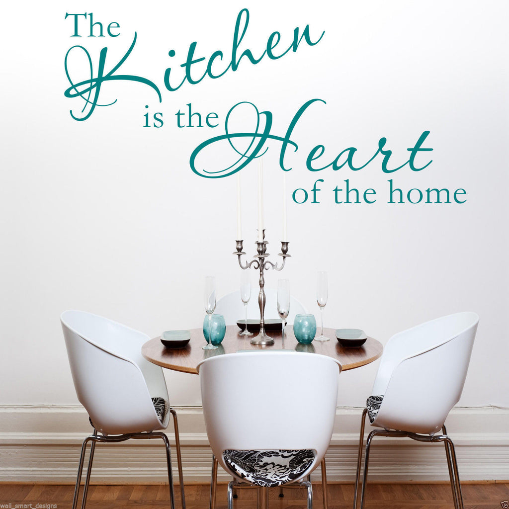 Kitchen Heart Of The Home Wall Quote WSD405
