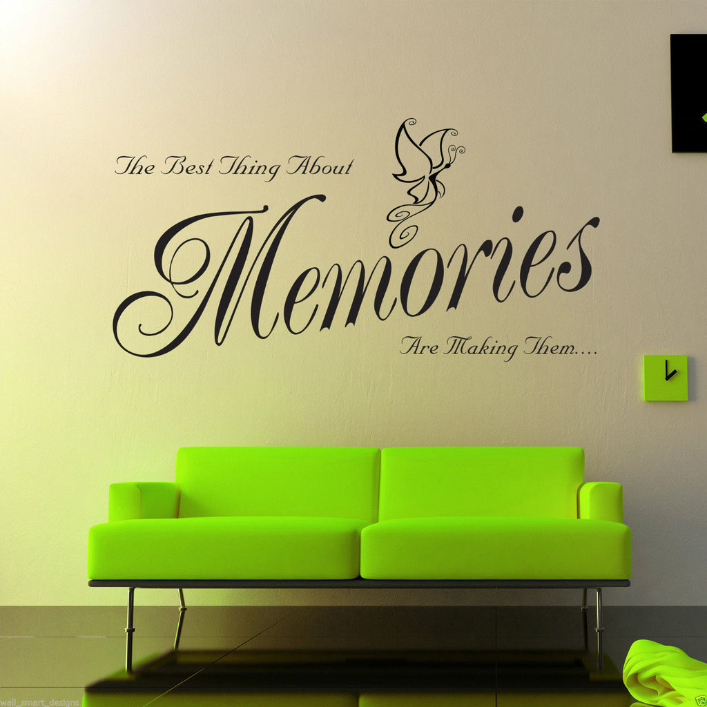 Making Memories Wall Quote WSD517