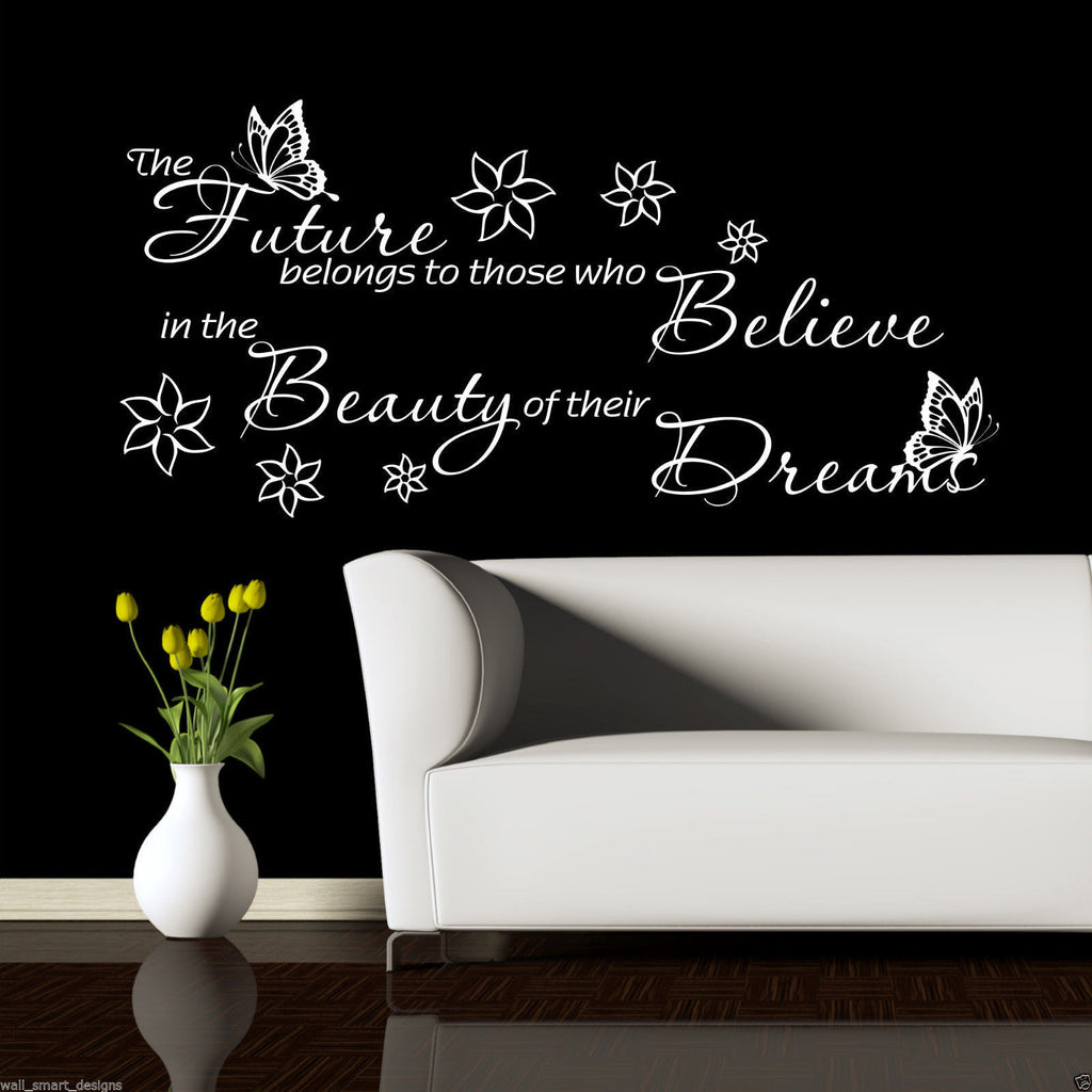 Dream Believe Future Wall Quote WSD471