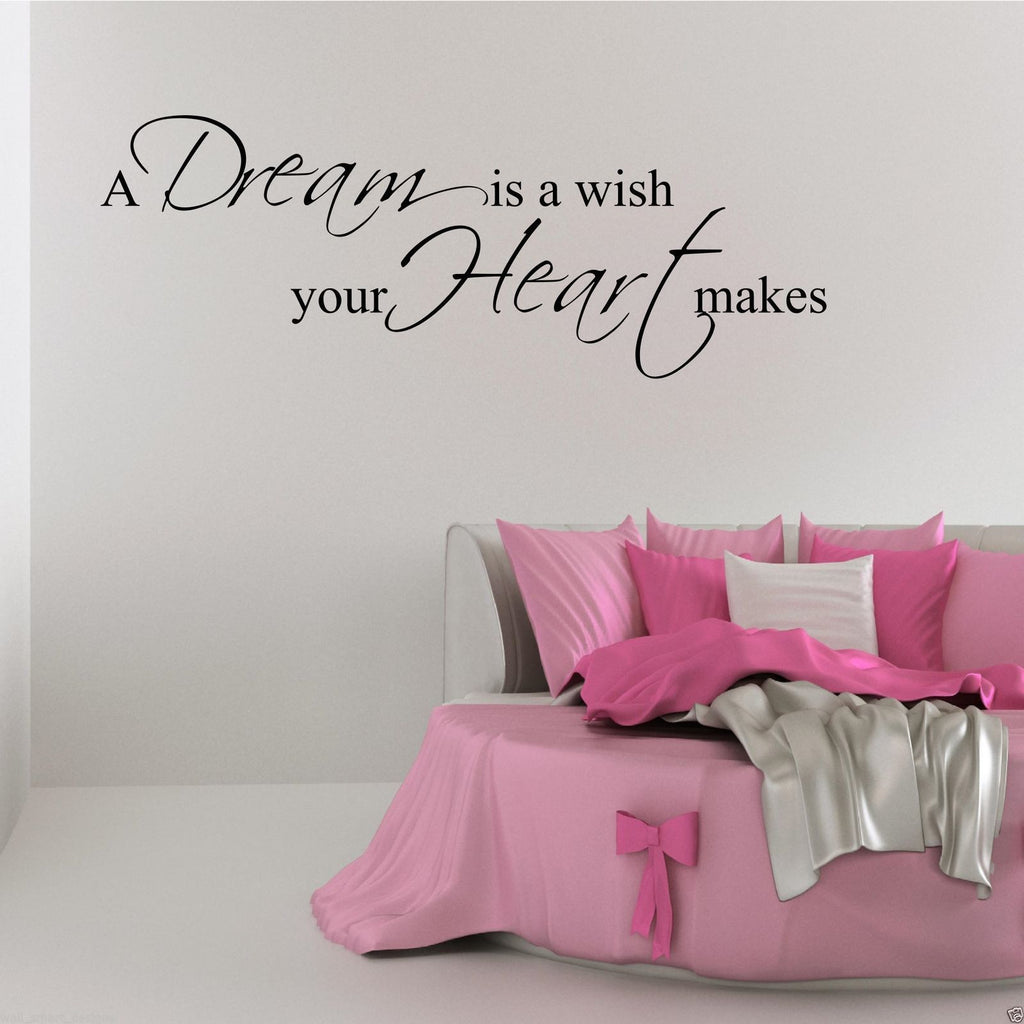 Dream Wish Wall Quote WSD473