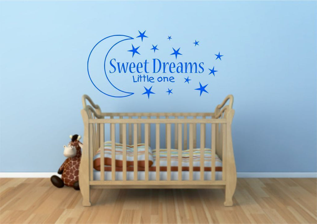 Sweet Dreams Wall Quote WSD605