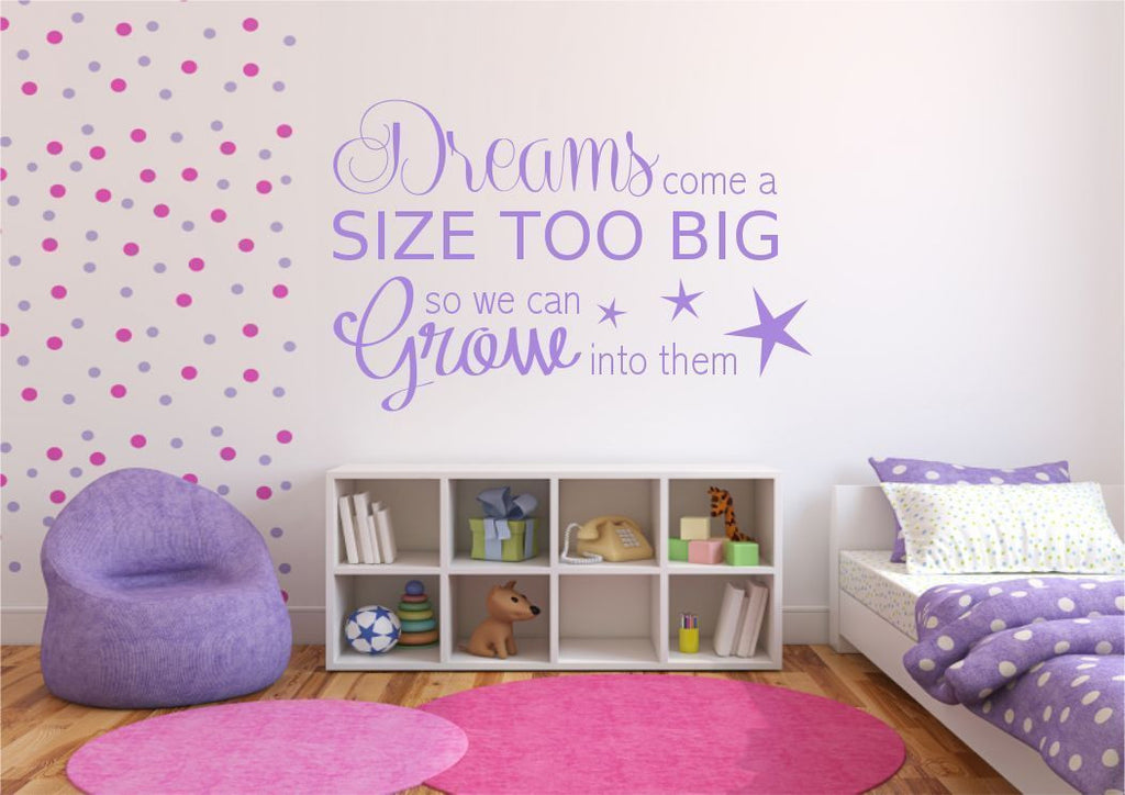 Dream Big Wall Quote WSD461