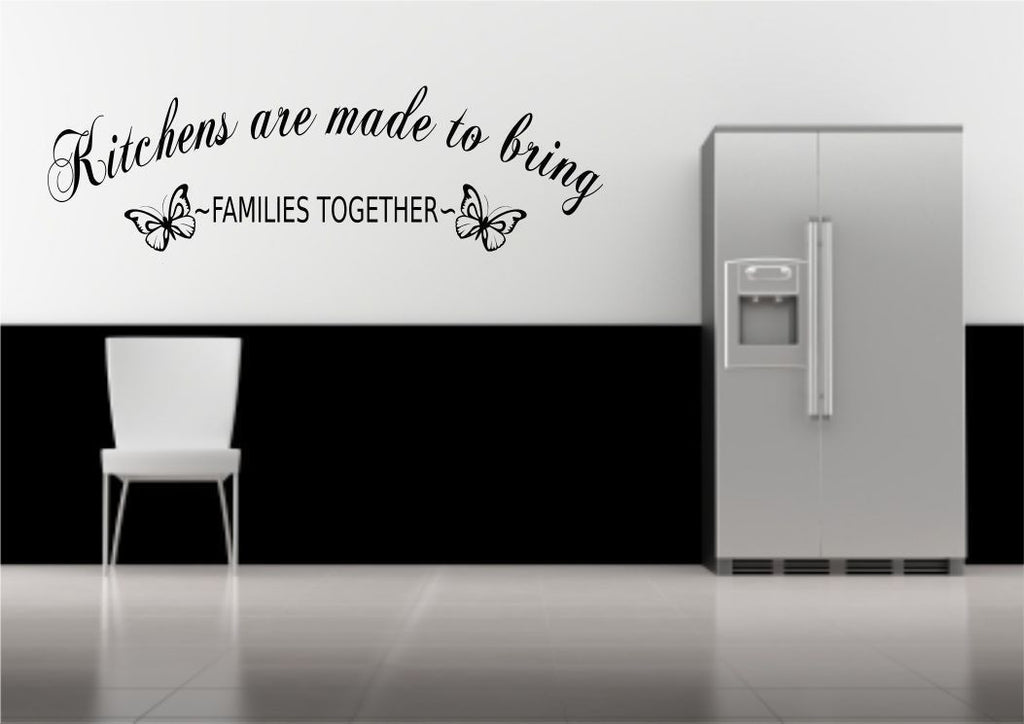 Kitchen Family Together Wall Quote WSD503