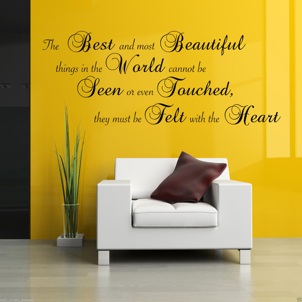 The Best And Most Beautiful Wall Quote WSD658