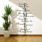 Family Love Life Wall Quote WSD417