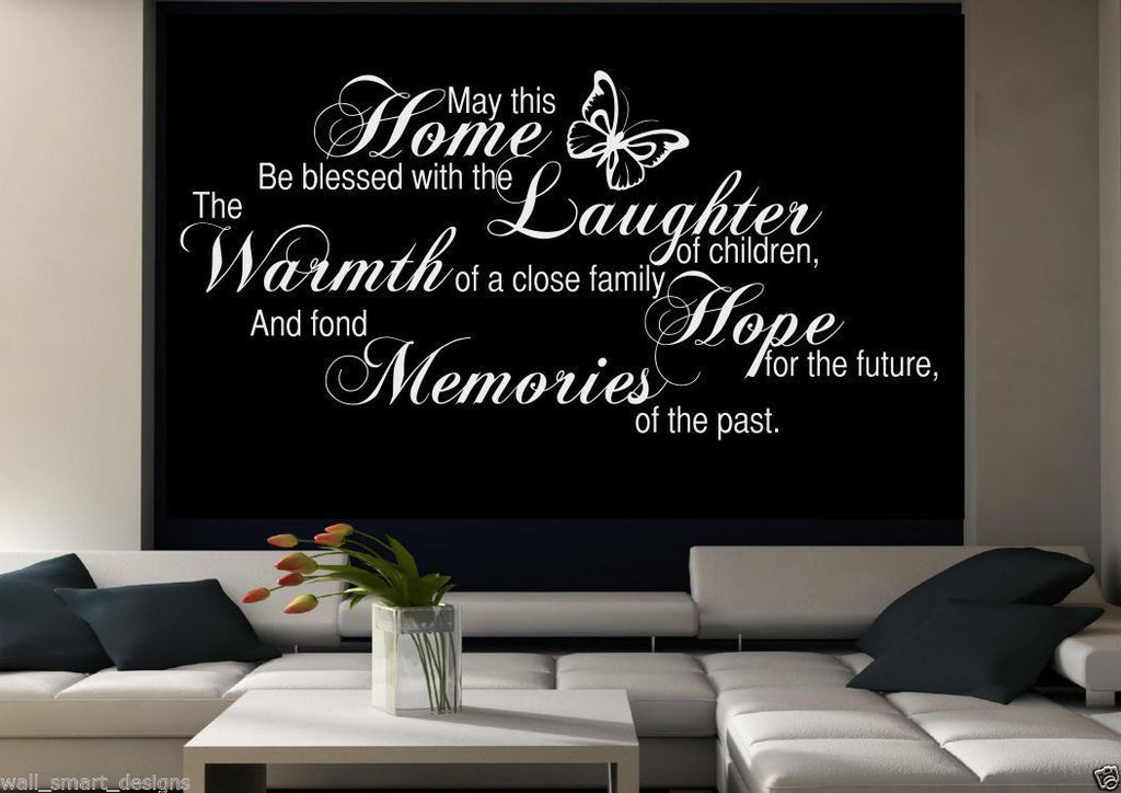 Home Memories Wall Quote WSD491