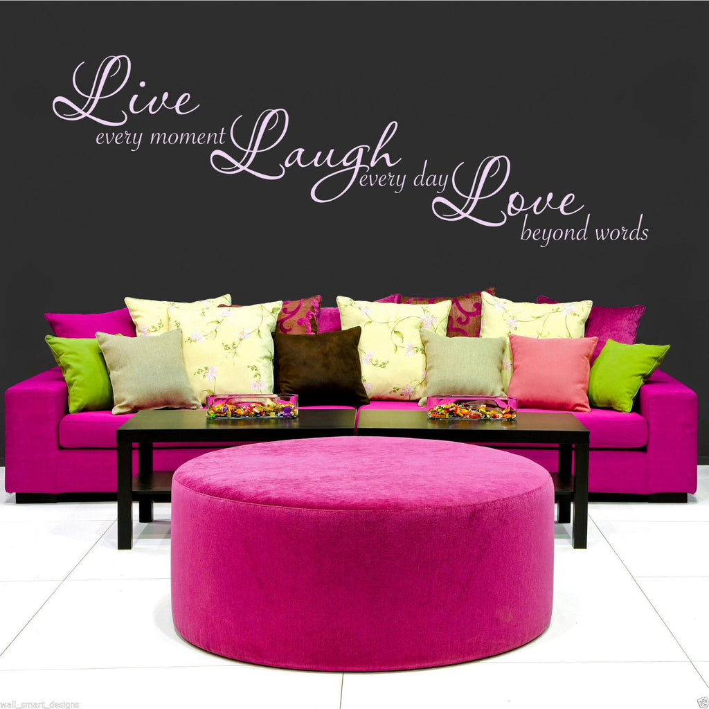 Live Laugh Love Wall Quote WSD430