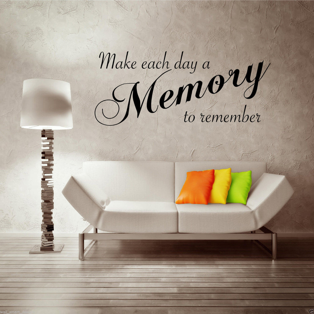 Memory Wall Quote WSD497