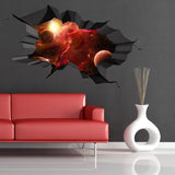 3D Space Planet Wall Sticker WSD66