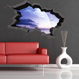 3D Space Planet Wall Sticker WSD563