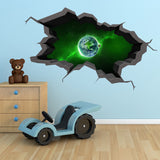 3D Space Planet Wall Sticker WSD556