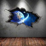 3D Space Planet Wall Sticker WSD5