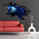 3D Space Planet Wall Sticker WSD564