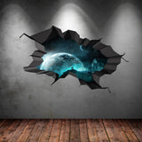 3D Space Planet Wall Sticker WSD565