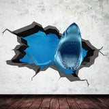 3D Shark Wall Sticker WSD571