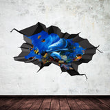 3D Dolphin Wall Sticker WSD249