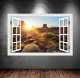 3D Nevada Desert Window Wall Sticker WSD411