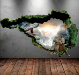 3D Dinosaur Wall Sticker WSD74