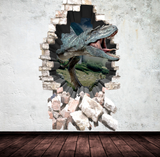 3D Dinosaur Wall Sticker WSD245