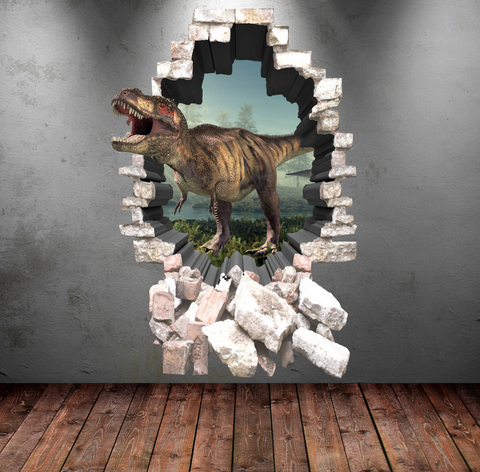 3D Dinosaur Wall Sticker WSD85