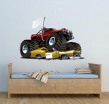 2D Monster Truck Wall Sticker WSD59
