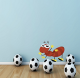 2D Cartoon Ant Insect Wall Sticker WSD213