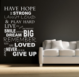 Have Hope Wall Quote WSD486