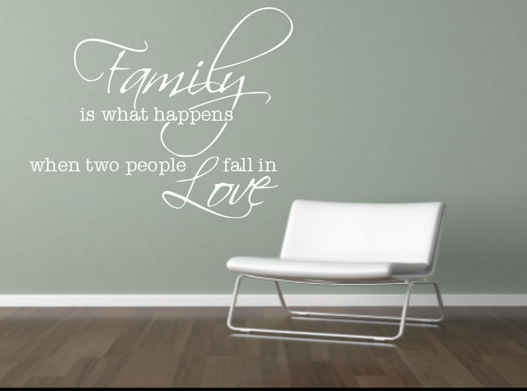 Family Love Wall Quote WSD427