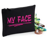 My Face Makeup Bag Cosmetic Canvas Bag WSD190