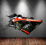 F1 Racing Car Wall Sticker WSD587
