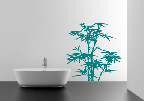 Bamboo Tree Vinyl Wall Art Sticker WSD596