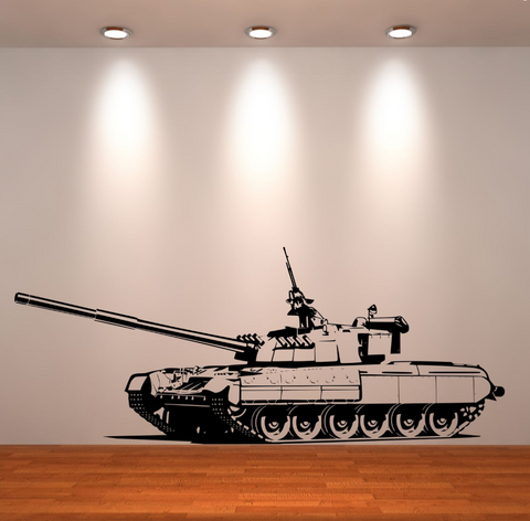 Army Tank Vinyl Wall Art Sticker WSD668