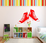 Converse Trainers Vinyl Wall Art Sticker WSD670