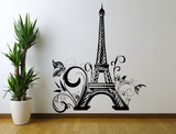 Eiffel Tower Paris Vinyl Wall Art Sticker WSD671