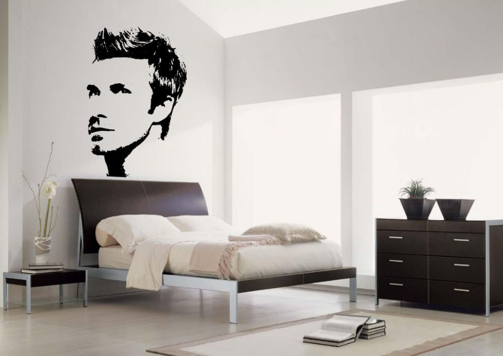 David Beckham Vinyl Wall Art Sticker WSD673