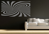 Abstract Modern Illusion Vinyl Wall Art Sticker WSD683