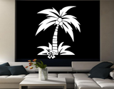 Coconut Palm Tree Vinyl Wall Art Sticker WSD711