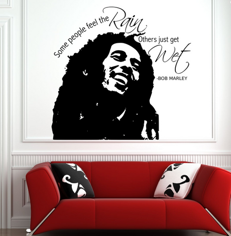 Bob Marley Vinyl Wall Art Sticker WSD719