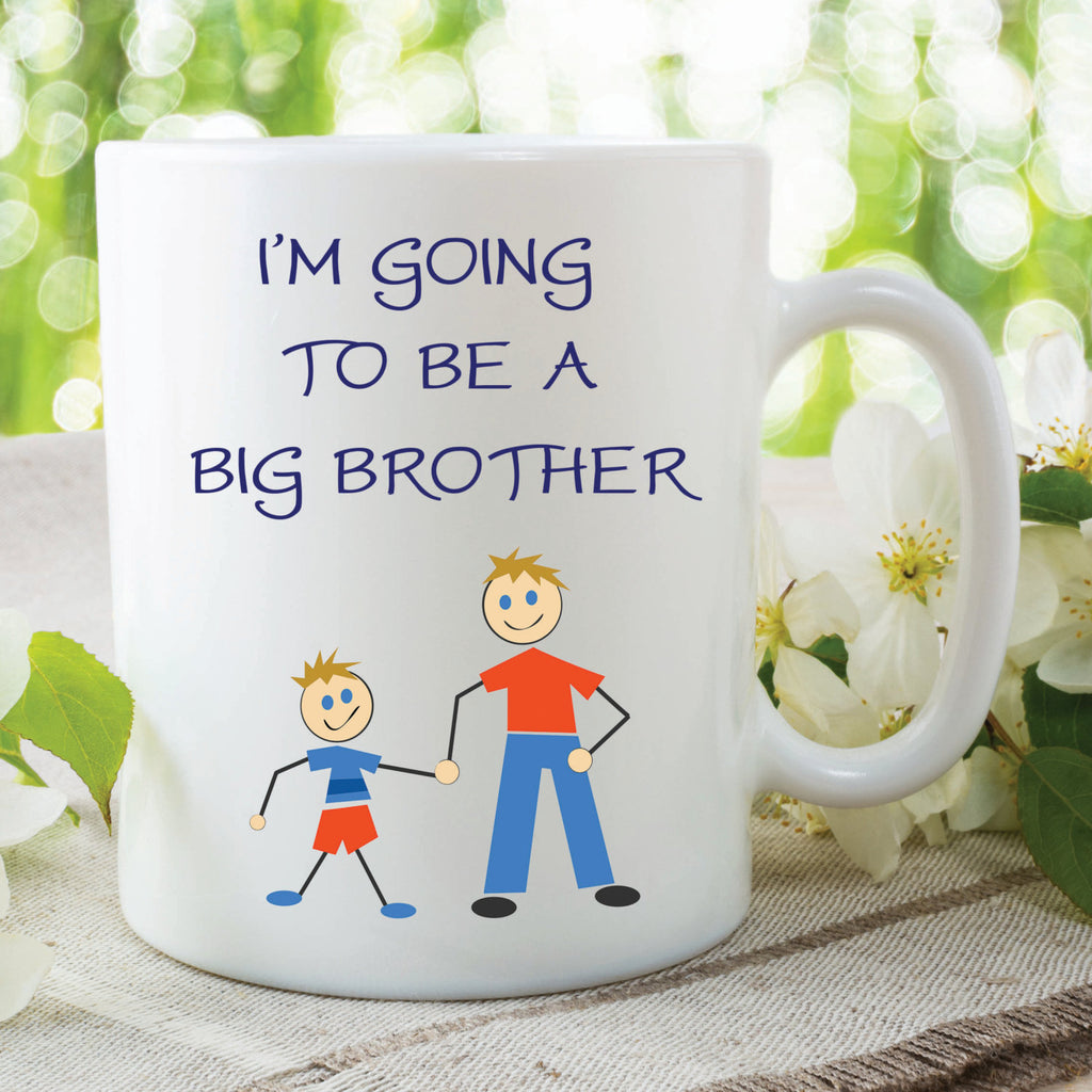 I'm Going To Be A Big Brother Mug Gift For Son New Brother Surprise Gift Baby Announcement Surprise Mug For Son Brother Mug WSDMUG135