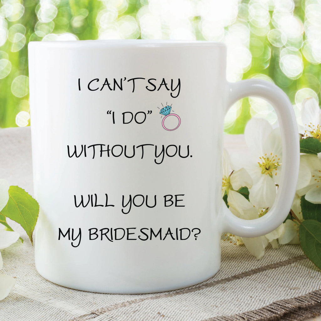 Will You Be My Bridesmaid Ceramic Mugs Bridesmaid Gifts Surprise Gift For Friend Best Friend Mugs Cups Gifts Wedding Marriage WSDMUG139