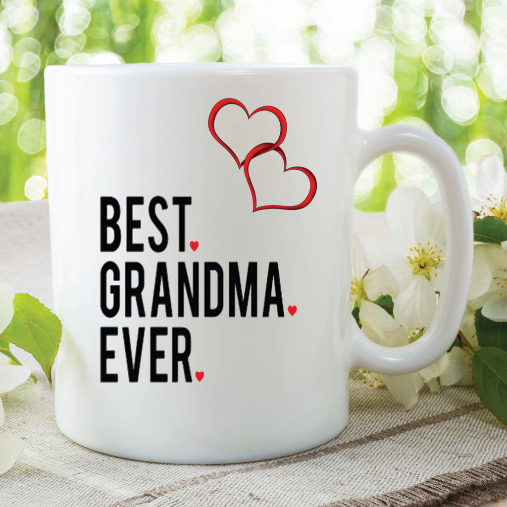 Grandma Mug Best Grandma Ever Gift Birthday Present Mothers Day ...