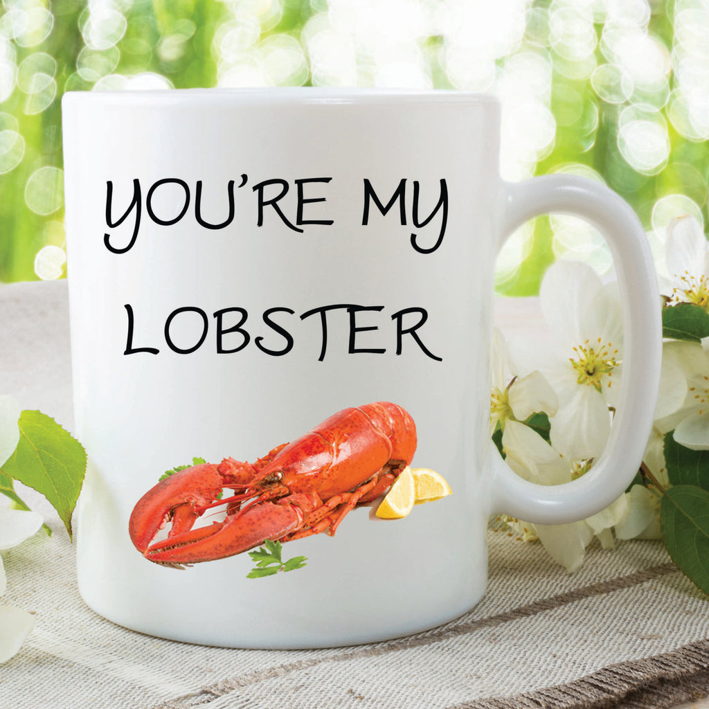Lobster Mug Printed Ceramic Mugs You're my Lobster Christmas Mug Gifts Birthday Present Gifts For Him Her Anniversary Present WSDMUG388