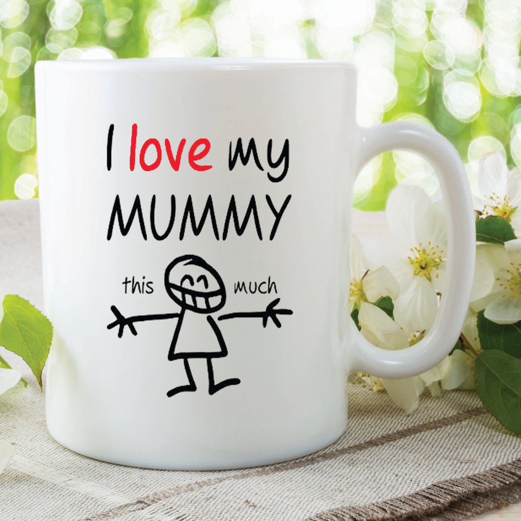 I Love My Mummy Mugs Mothers Day Gift Present Birthday Christmas Mummy Mugs Mum Cups Baby Shower New Baby Gifts For Her Valentines WSDMUG514