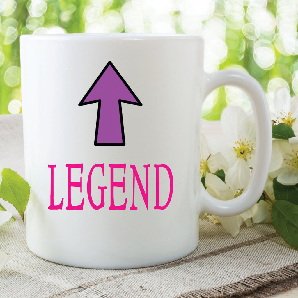 Legend Mug Mothers Day Gift Friend Gift Christmas Present Gift For Her Best Friend Mug Gift For Daughter Novelty Funny Mugs Cups  WSDMUG559