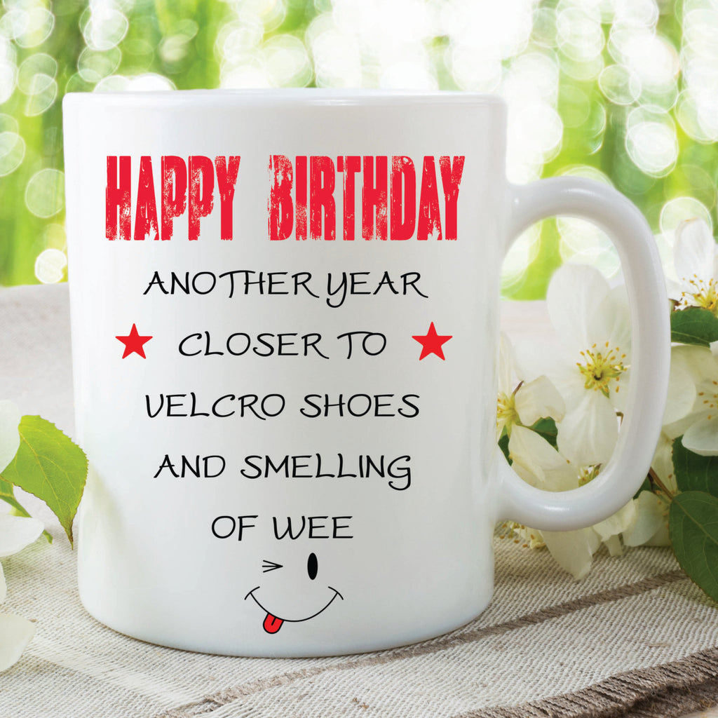 Funny Novelty Mugs Happy Birthday Friend Gifts Gift Ideas G Peachy Cards