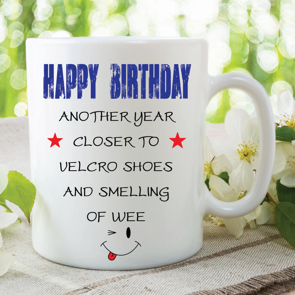 Funny Novelty Mugs Happy Birthday Mugs Friend Gifts Funny Gift Ideas G Peachy Cards