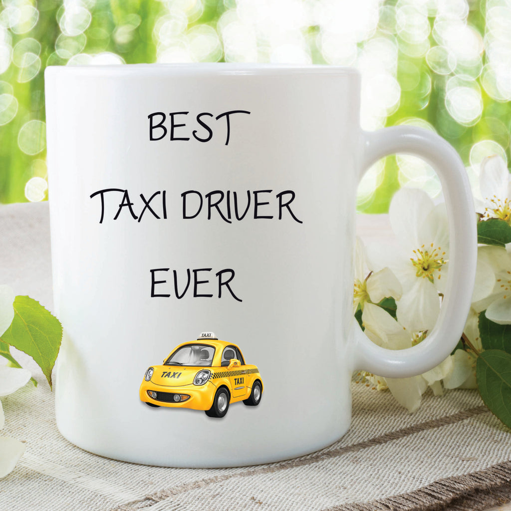 Best Taxi Driver Ever Mugs Boyfriend Girlfriend Gifts Birthday Pr Peachy Cards