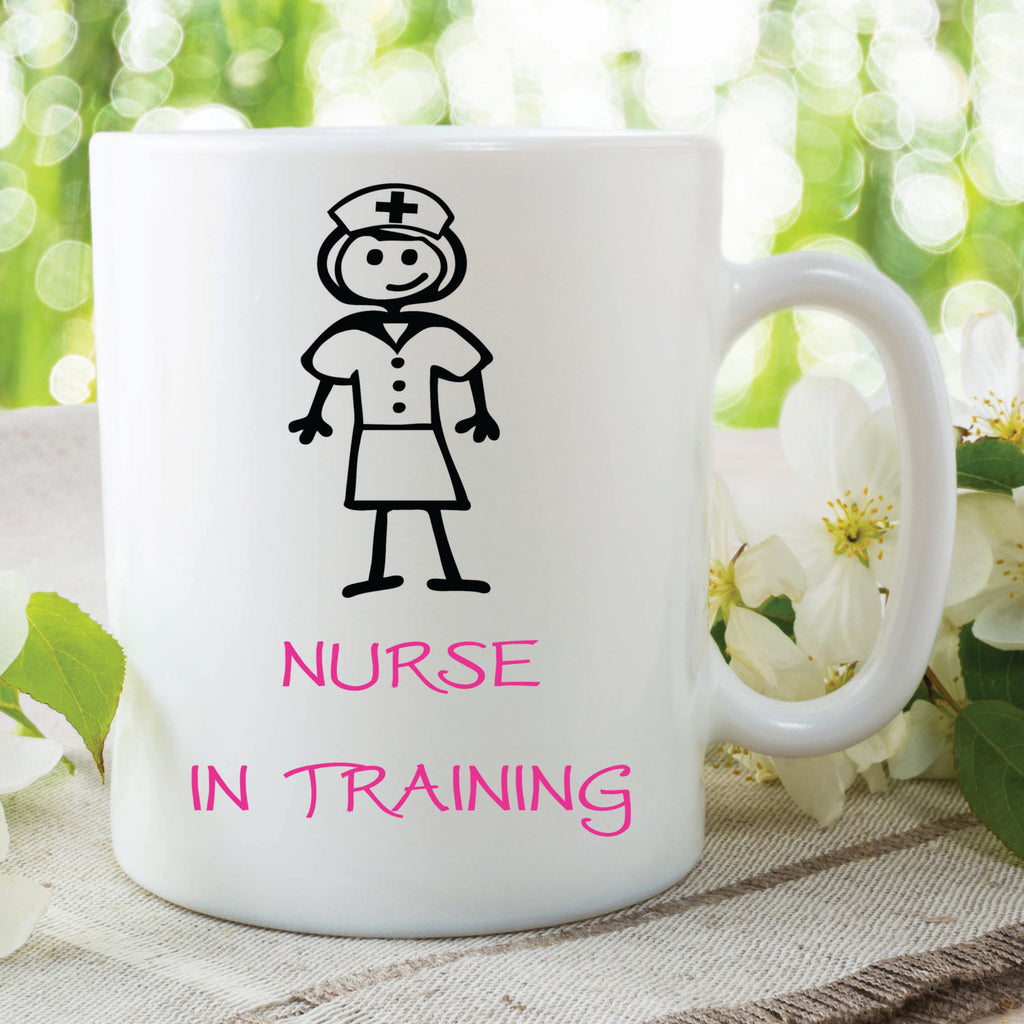 Nurse In Training Mug Nurse Present Gift Christmas Gift Birthday Gift For Mum Nurse Training Gift Present Secret Santa Work Mug WSDMUG239
